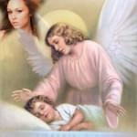 Fotomontaje cristiano de Ángel Guardián