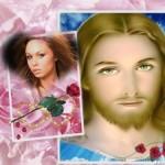 Marco de fotos con Jesús