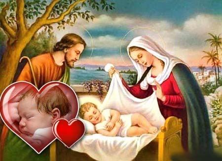 Navidad archivos fotomontajes cristianos - Nacimiento para navidad ...