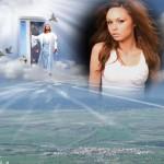 Fotomontajes con Jesús en el cielo