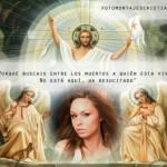 Fotomontajes de Pascua: Resurección de Jesucristo
