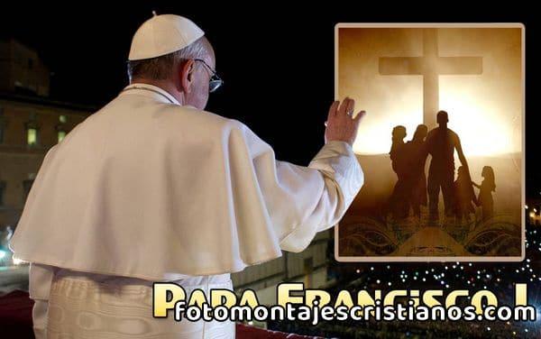 Fotomontajes con el Papa Francisco