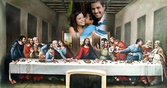 fotomontaje cristiano