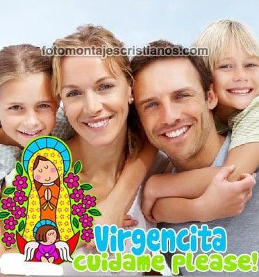 fotomontajes con la virgencita
