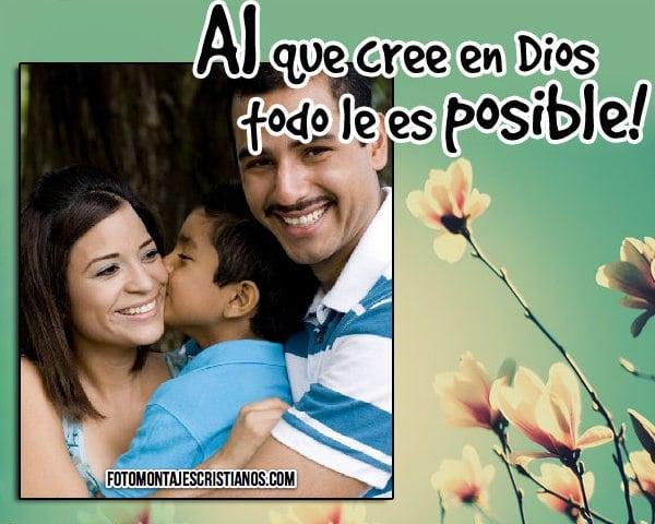 Fotomontajes cristianos con frases positivas | Fotomontajes Cristianos