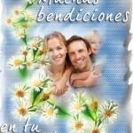Fotomontajes cristianos de bendiciones