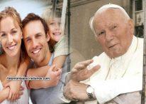 Fotomontaje junto al Papa Juan Pablo II