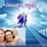 Fotomontaje con el arcángel Miguel
