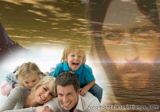 fotomontajes cristianos de jesus