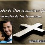Fotomontajes cristianos con la Cruz y el poder de Dios