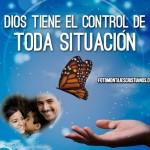 Fotomontaje religiosos: Dios tiene el control de toda situación