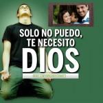 Fotomontajes cristianos: Dios, te necesito
