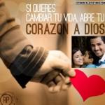 Fotomontajes cristianos: Abre tu corazón a Dios