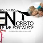 Fotomontajes cristianos: Cristo me fortalece