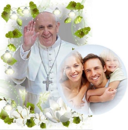 fotomontajes del papa francisco