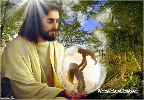 mejores fotomontajes junto a jesus