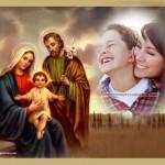 Fotomontajes con Jesús, María y José