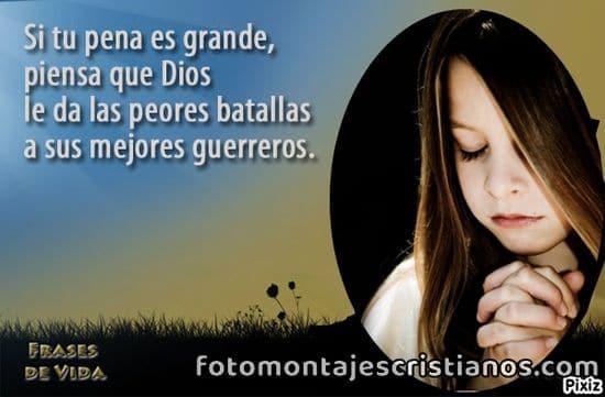Fotomontajes con mensajes cristianos