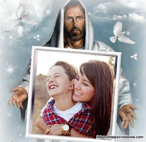 marcos de fotos cristianos Fotomontajes Cristianos