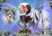 Hermoso fotomontaje cristiano para decorar tus fotos