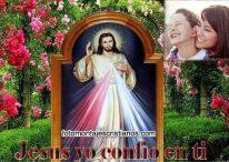 Fotomontajes Cristianos: Jesús yo confío en ti