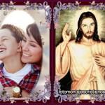 Fotomontaje de Jesús con tu foto