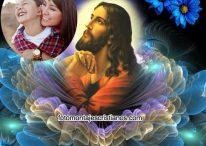 Fotomontaje para poner tu foto con Jesús