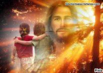 Fotomontaje cuídame Jesús