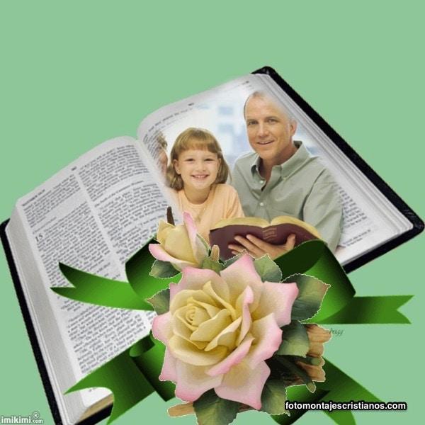 fotomontajes con biblia