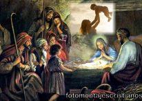 10 hermosos fotomontajes de Pesebre de Navidad